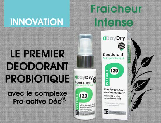 deodorant soin probiotique Fraicheur intense